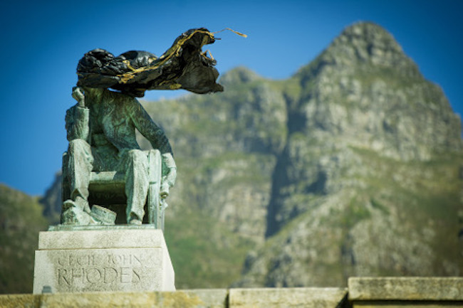 OFFICIAL: RHODES STATUE AT UCT TO BE TAKEN DOWN TODAY