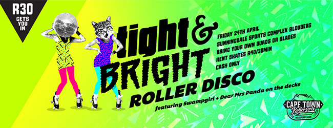 Cape Town Etc events | Cape Town Roller Girls roller disco