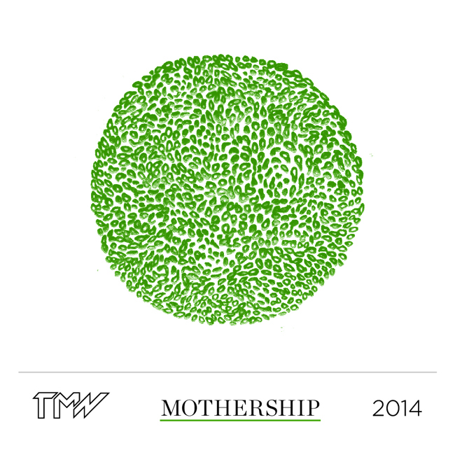 The Mothership bottle label, look out for it