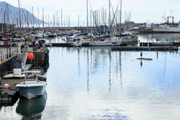 Picturesque views overlooking the harbour