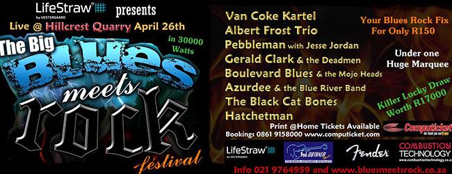 BIG BLUES MEETS ROCK FESTIVAL
