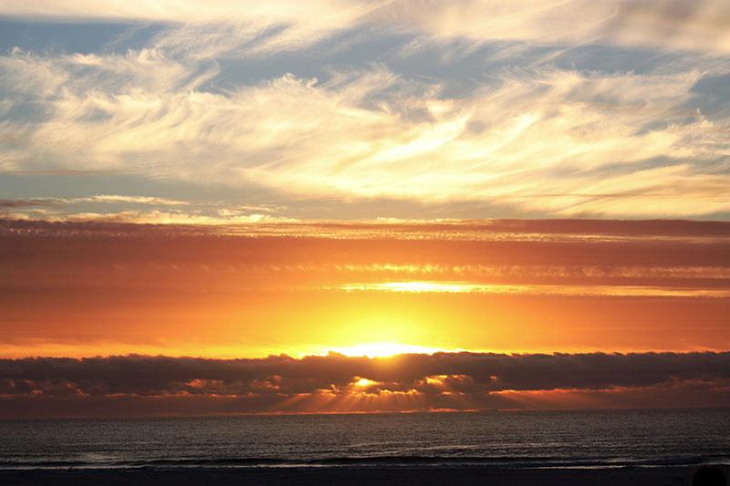 Red Herring sunset