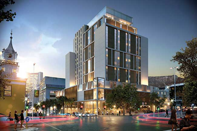 R680 MILLION HOTEL COMPLEX TO OPEN IN CAPE TOWN CBD