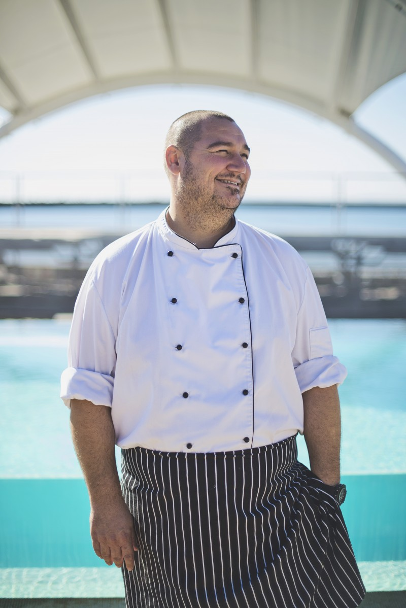Shimmy Beach Club Chef Adrian Cook