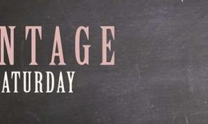 Vintage Saturday