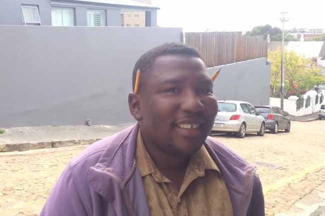 ANIMAL SOUNDS MAN – CAPE TOWN'S LATEST YOUTUBE STAR
