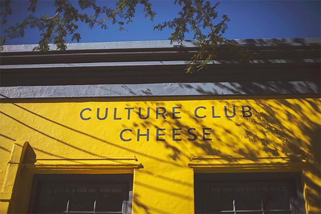 KEEP THE CHEESE PUNS AT HOME, IT'S CULTURE CLUB CHEESE