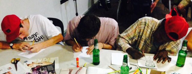 DRINK AND DRAW WITH 1000 DRAWINGS