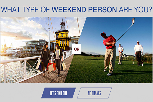 CAPE TOWN TOURISM LAUNCHES 'HELLO WEEKEND' CAMPAIGN