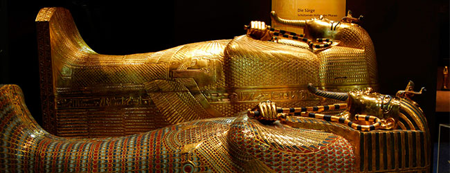 TUTANKHAMUN – HIS TOMB AND HIS TREASURES EXHIBITION