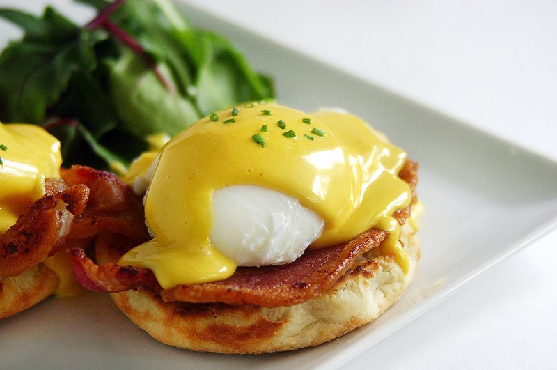 They also do an epic eggs benedict.