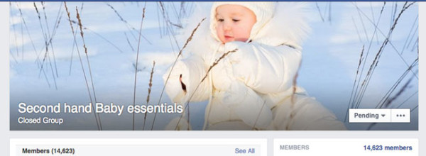 FB-Secondhand-baby-stuff