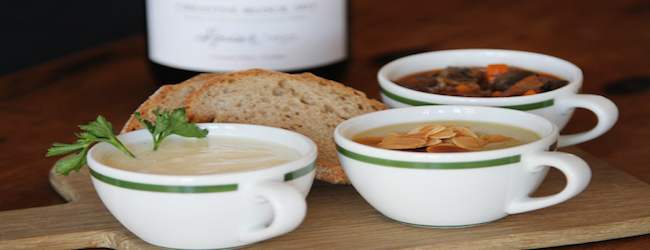 SOUP AND WINE PAIRING AT SPIER