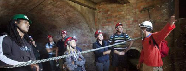 TUNNEL AND DUNGEON TOUR