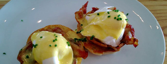 2- FOR-1 BENEDICT BREAKFAST SPECIAL AT LATITUDE 33