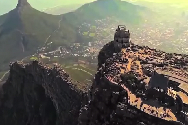 CAPE TOWN BY DRONE