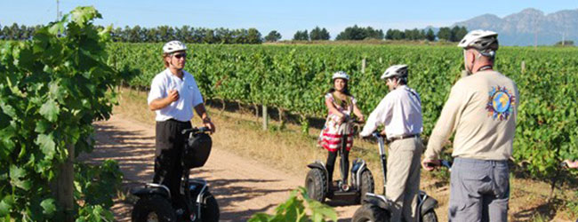 SEGWAY TOURS AT SPIER WINE FARM