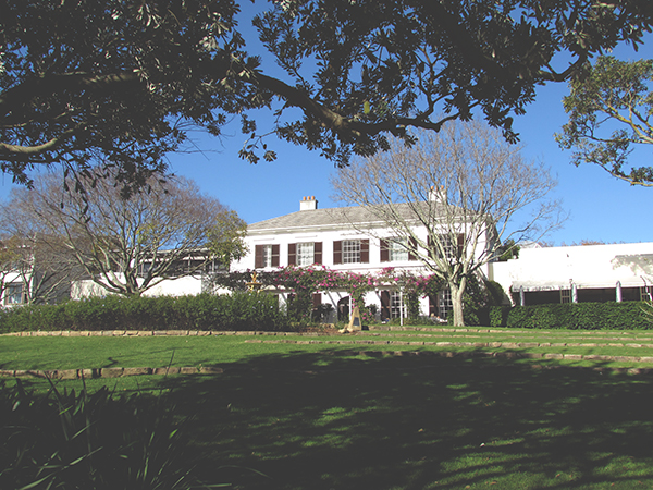 vineyard hotel newlands