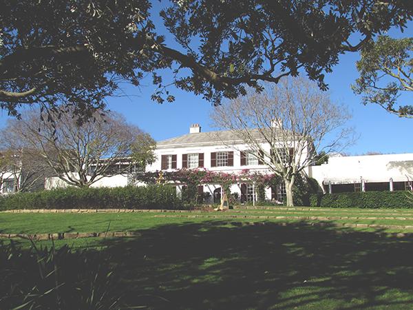 vineyard hotel newlands