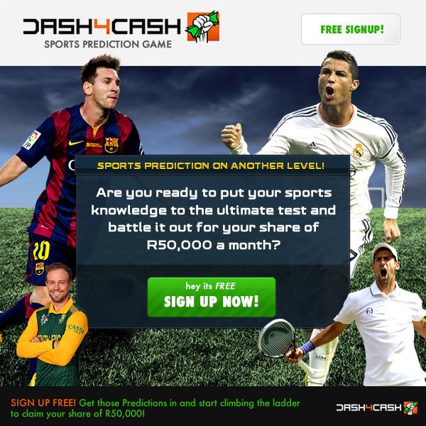 Dash4cash Sports predictions game