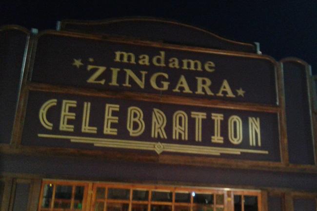 IT'S A CELEBRATION AT MADAME ZINGARA