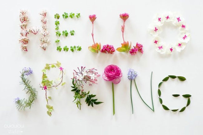 5 WAYS TO WELCOME BACK SPRING