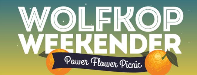 WOLFKOP WEEKENDER: POWER FLOWER PICNIC