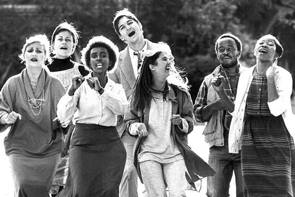 The original cast of Born in the RSA