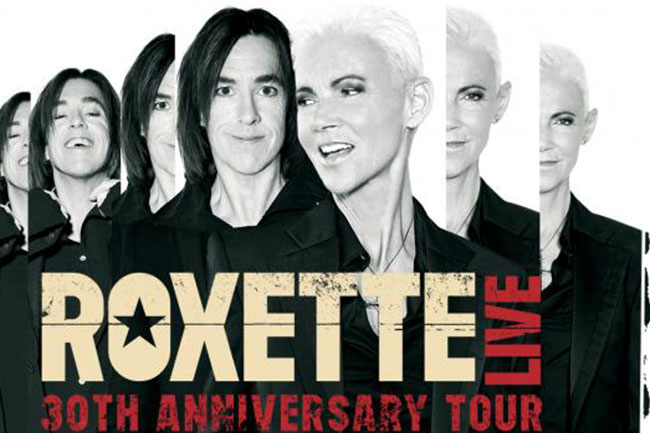 ROXETTE BACK IN CAPE TOWN IN 2016