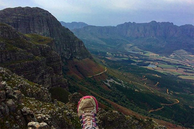 ABOVE THE WINELANDS AND BEYOND AT JONKERSHOEK