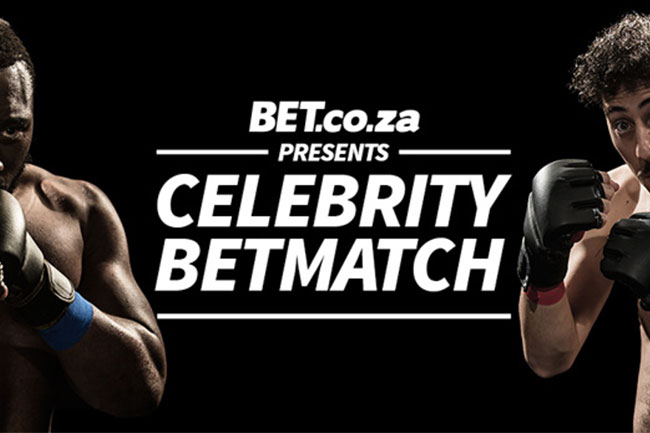 CELEBRITY BEMATCH WITH SCHALK BEZUIDENHOUT AND BEAST MTAWARIRA