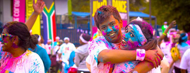 CAPE TOWN COLOUR RUN 2015
