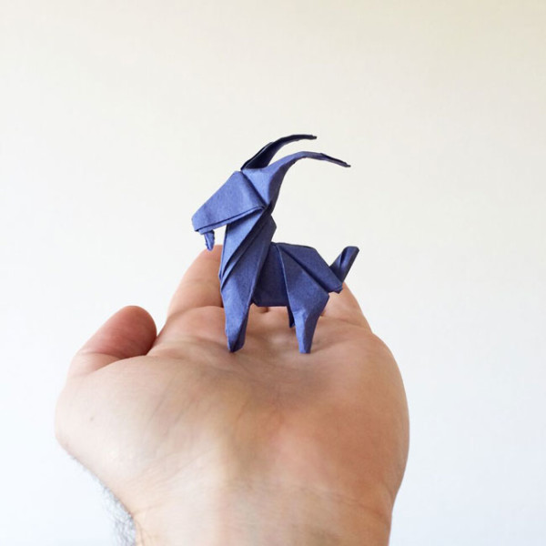 Goat – designed and folded by Ross Symons