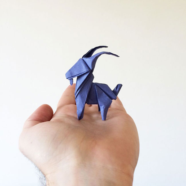 Qa With Origami Artist White On Rice Capetown Etc