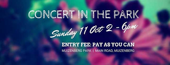 MUIZENBERG CONCERT IN THE PARK