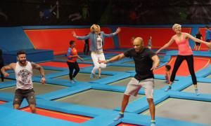 rush, trampoline, park