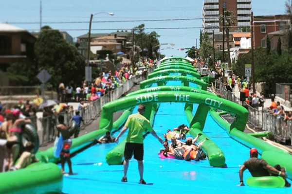 slide the city