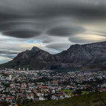 ufos over table mountain