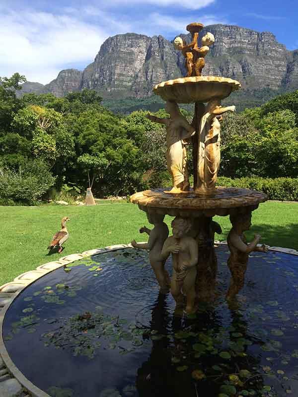 Vineyard-fountain