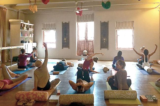 the shala yoga
