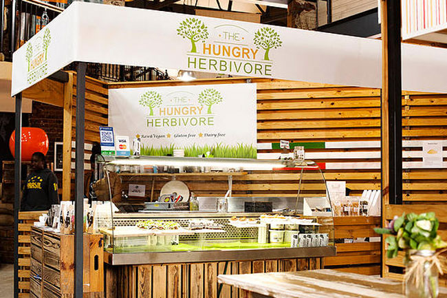 the hungry herbivore