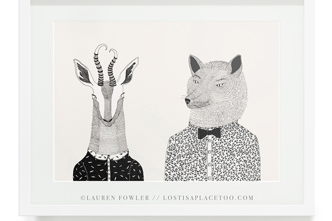 LAUREN FOWLER ART PRINTS