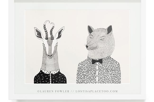 LAUREN FOWLER ART PRINTS