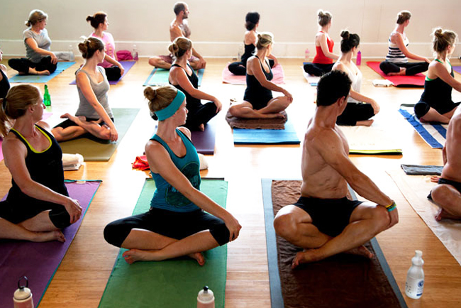 Bikram yoga in Cape Town