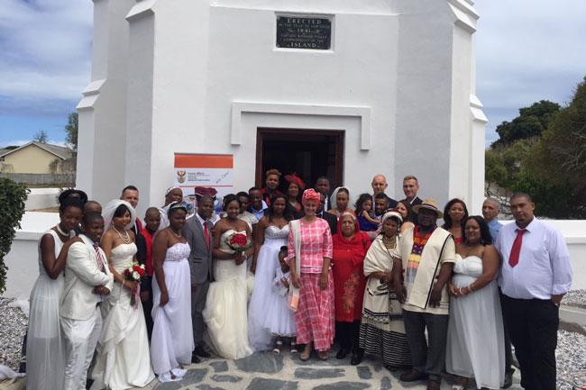 Robben Island wedding