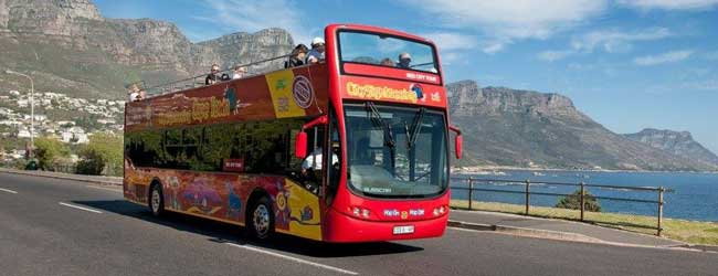 city sightseeing red bus