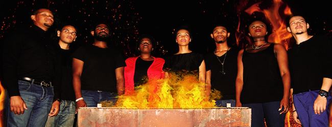 AROUND THE FIRE AT ARTSCAPE
