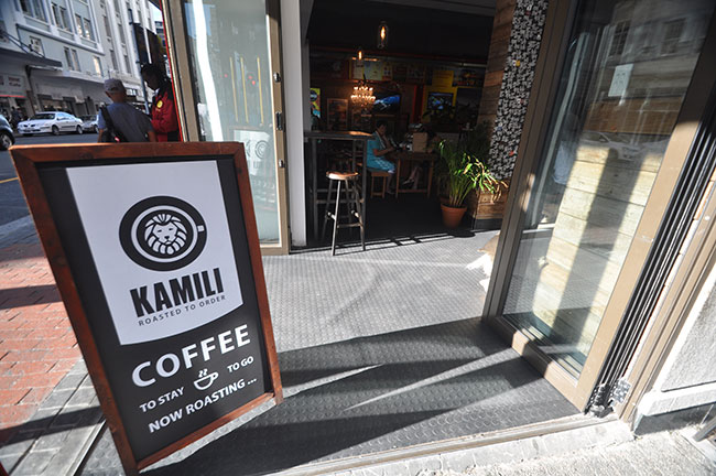 THE PERFECT CUP OF COFFEE AT KAMILI