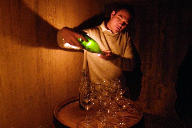 UNDERGROUND WINE TASTINGS AT  WELTEVREDE