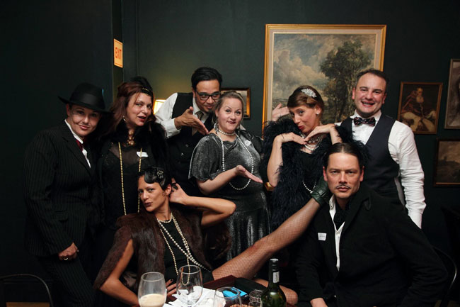 ADD SOME INTRIGUE TO YOUR PARTY WITH A MURDER MYSTERY